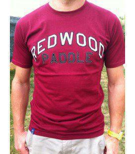 Redwoodpaddle Tee Granate