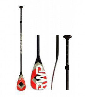 Pagaia SUP Player Ajustável Black Red