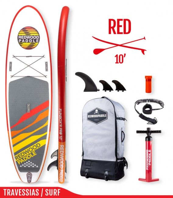 Funbox Pro 10′ classic red
