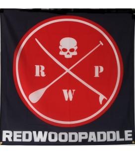 Bandeira Redwoodpaddle quadrada