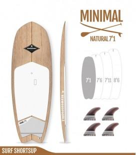 Minimal Natural Wood 7′1