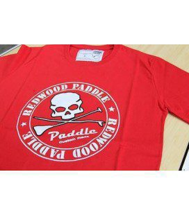 Redwoodpaddle Tee Red